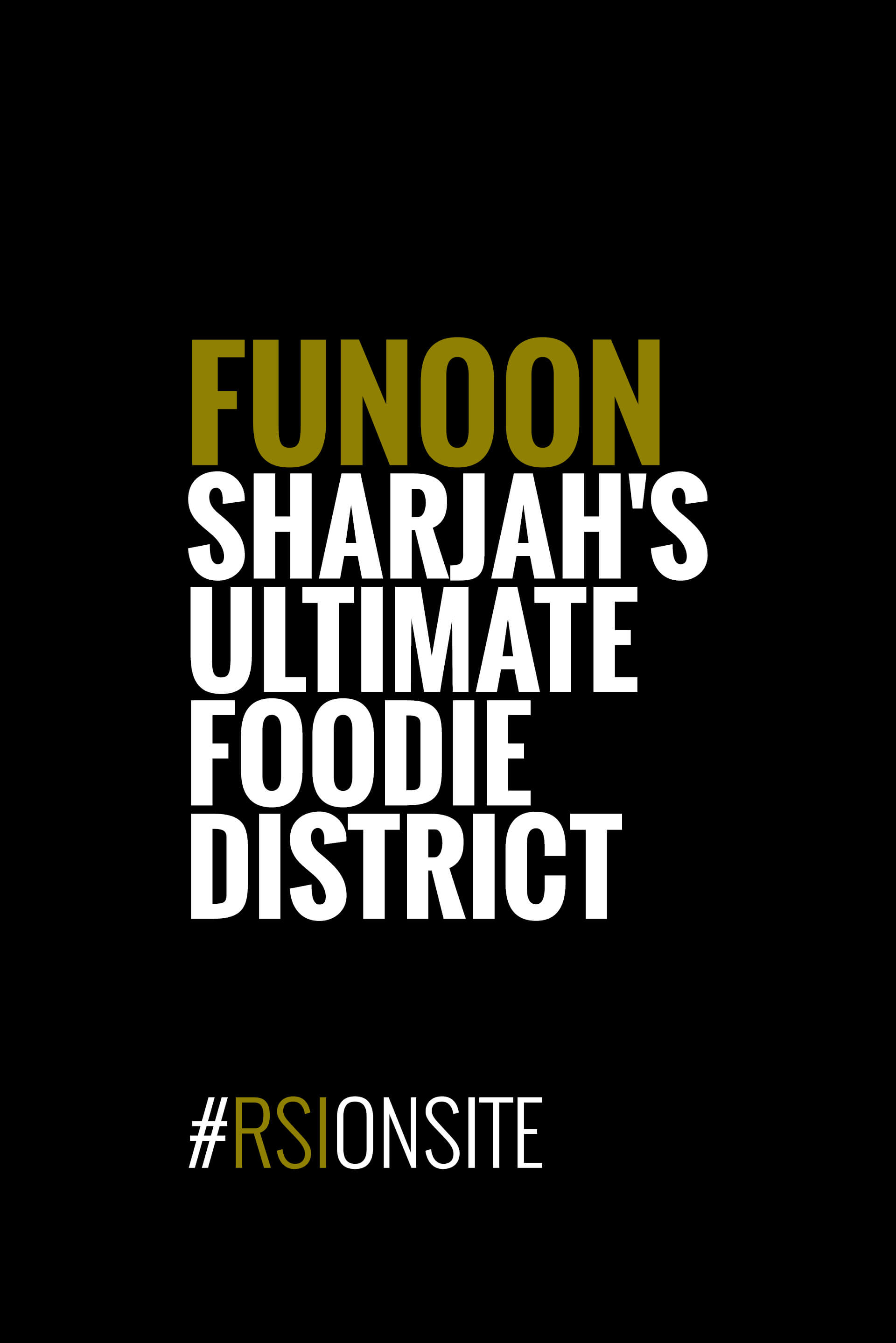 Funoon - Sharjah's ultimate foodie district